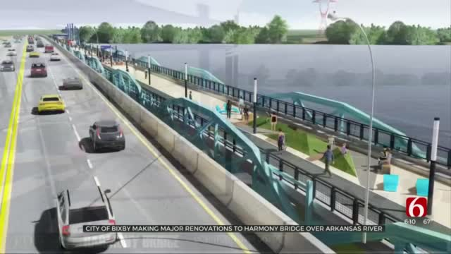 City of Bixby Urges People To Stay Off Harmony Bridge During Renovations