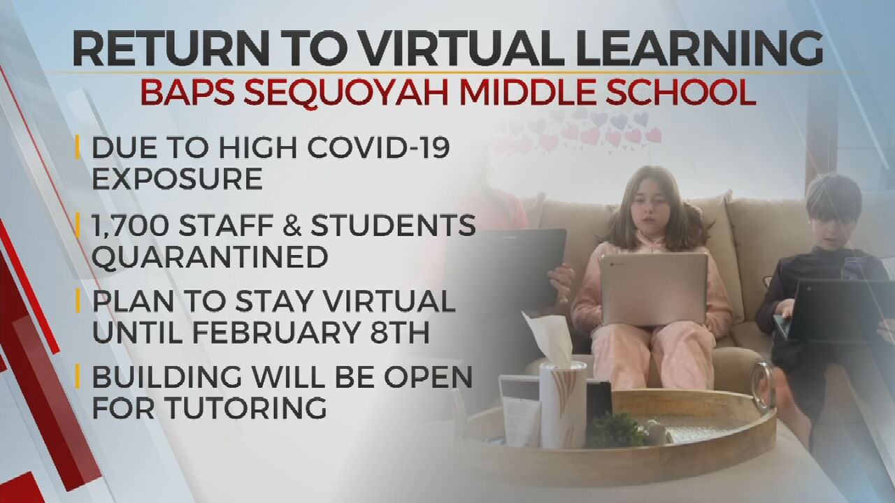 Sequoyah Middle School Transitions To Distance Learning For 2 Weeks Due To COVID-19 Exposure