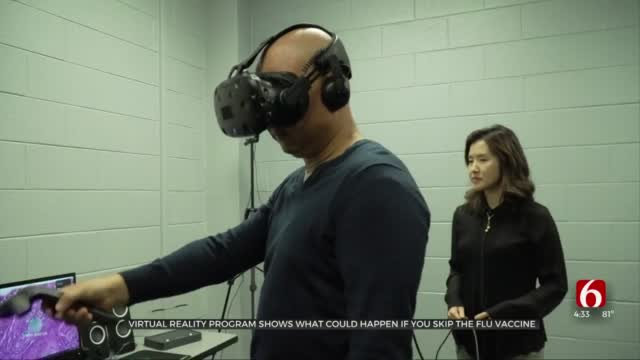Virtual Reality Program Shows Impact Of Skipping The Flu Vaccine