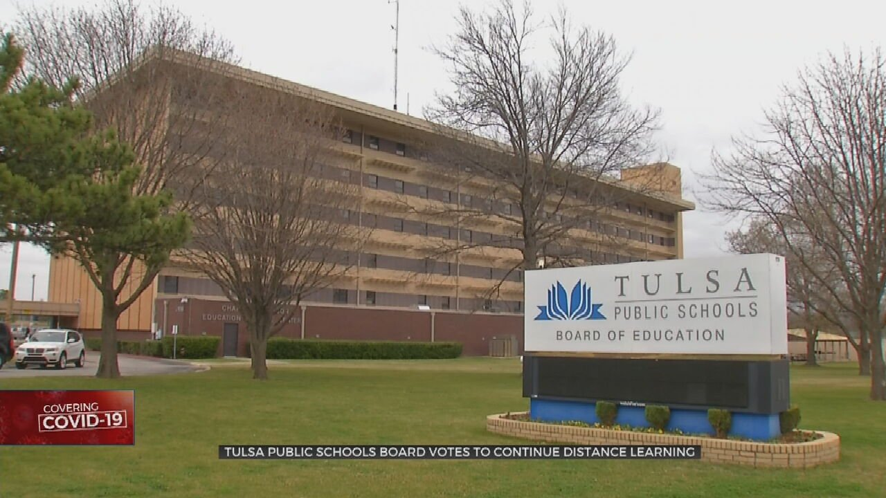 Tulsa Public School Students To Continue Distance Learning Into March