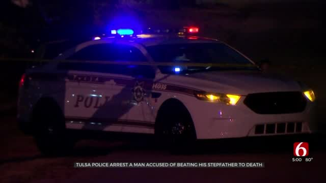 Tulsa Police Arrest Man They Say Admitted To Killing 70-Year-Old Stepfather