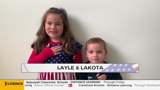 Daily Pledge: Layle & Lakota