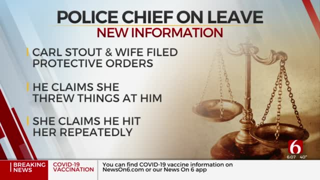 Oilton Mayor Says Police Chief On Leave During Domestic Incident Investigation