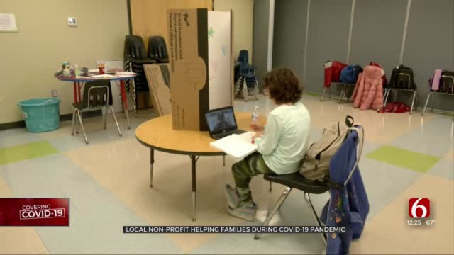Local Non-Profit Provides Safe Places For Students Learning Virtually