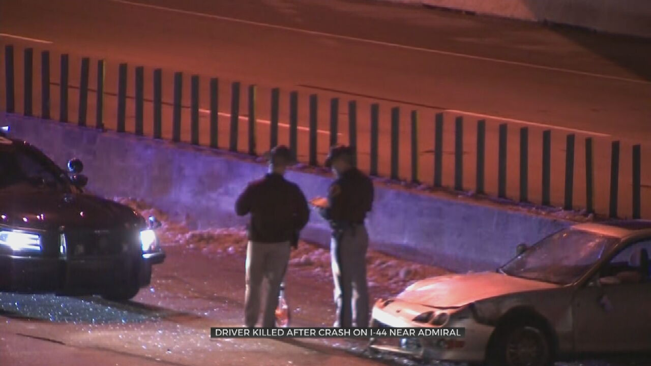 OHP Investigating Deadly Crash On I-44 , Admiral