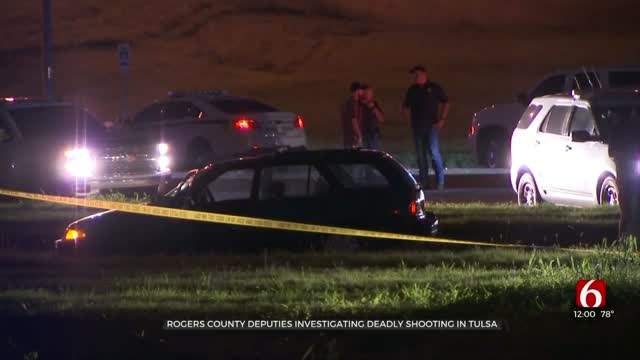 1 Dead After Pursuit, Deputy-Involved Shooting In Tulsa