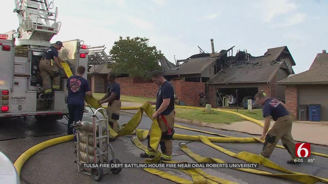 Fire Destroys Tulsa Home; Cause Under Investigation