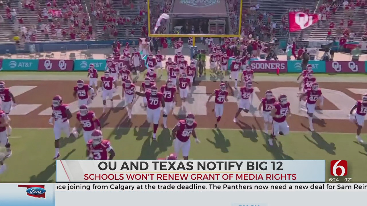 OSU President, Big 12 Commissioner Respond To OU, Texas Move To Leave Conference