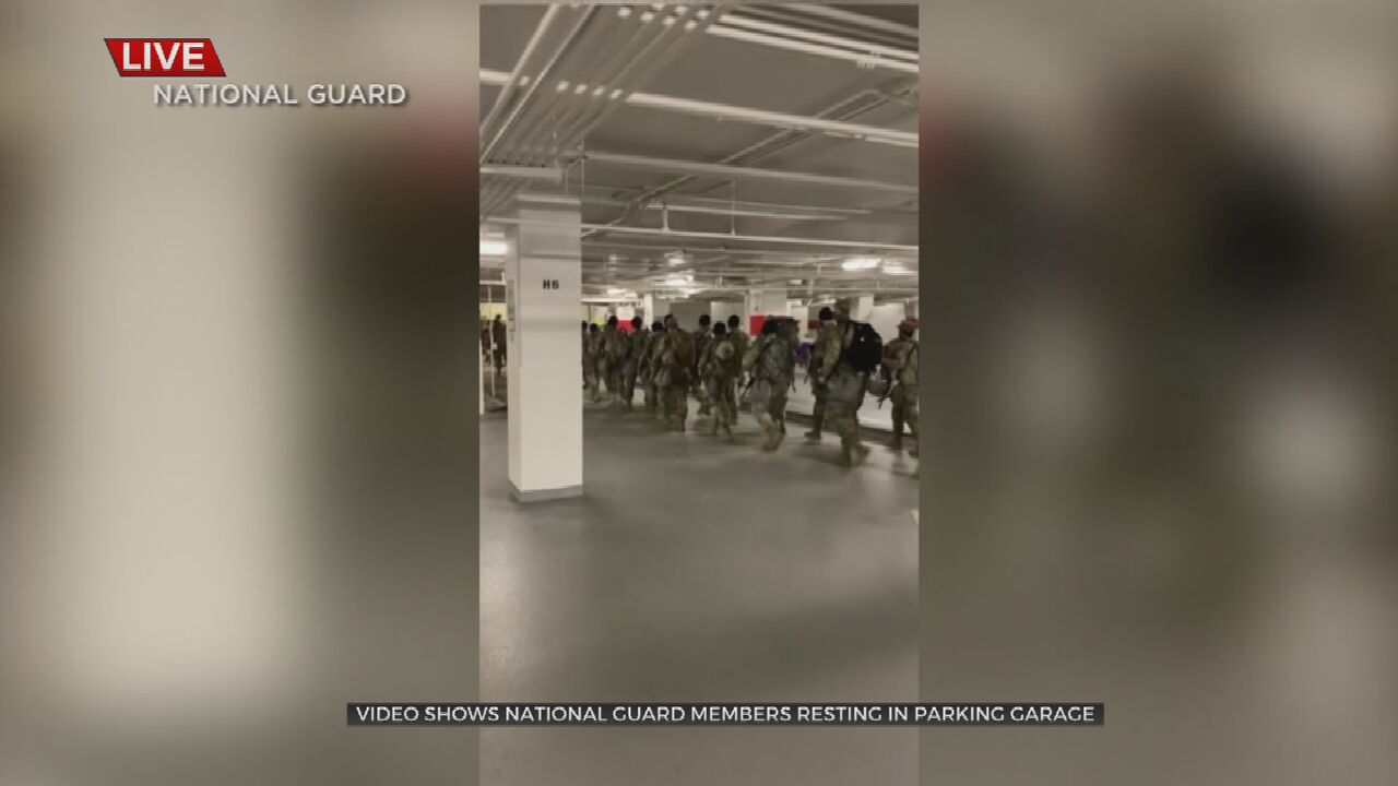National Guard Troops In D.C. Once Again Allowed To Rest In U.S. Capitol Following Controversy