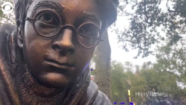 Watch: Harry Potter Statue Unveiled In London