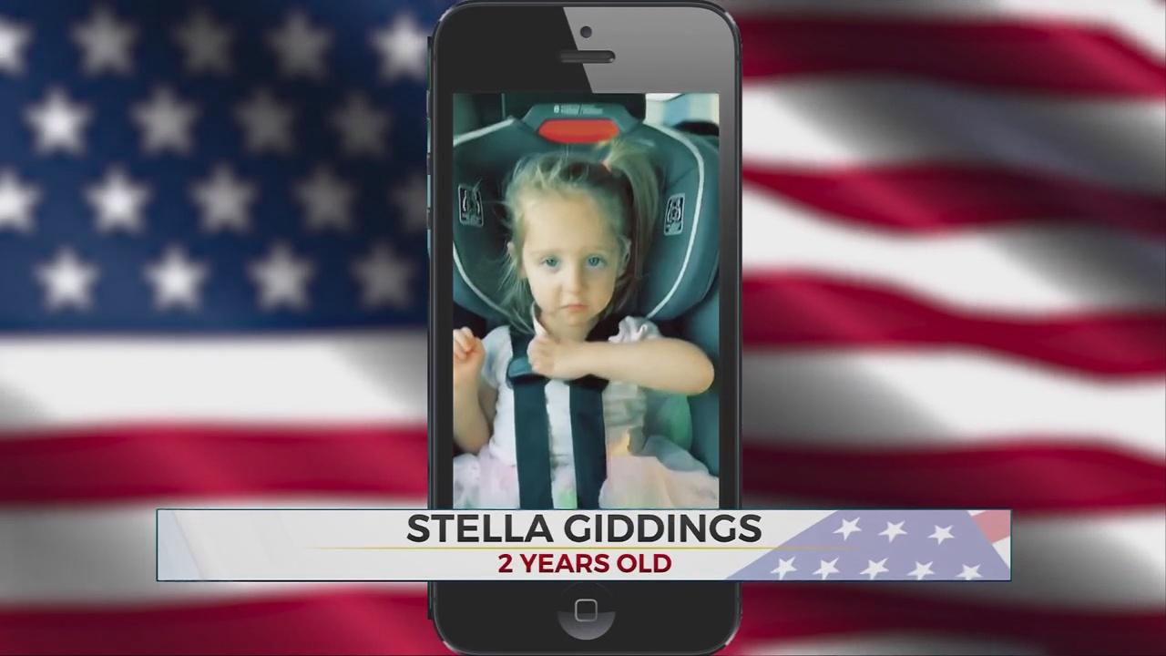 Daily Pledge: Stella Giddings