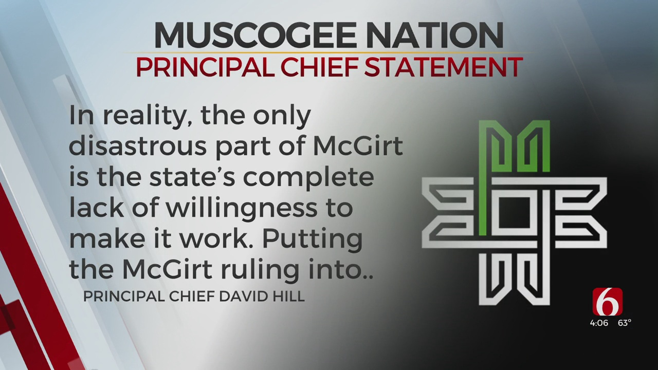 Native Rights Activists Plan To Protest Tulsa's Decision To Revisit McGirt Ruling