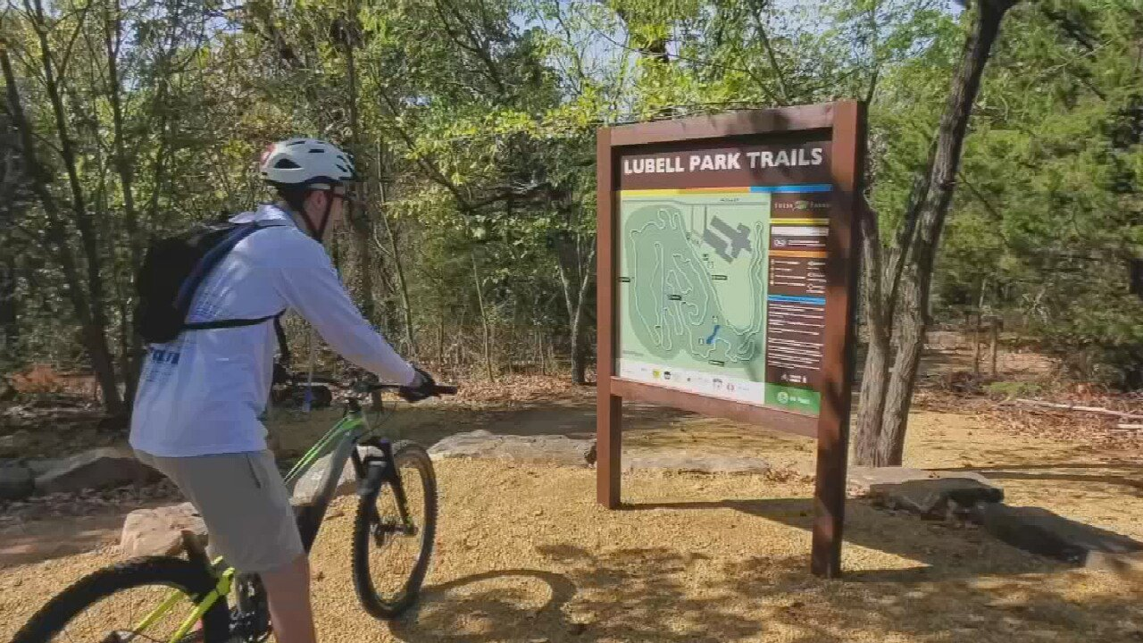 Abandoned Tulsa Park Trail Improved To Highlight Opportunities For New Bike Trail System