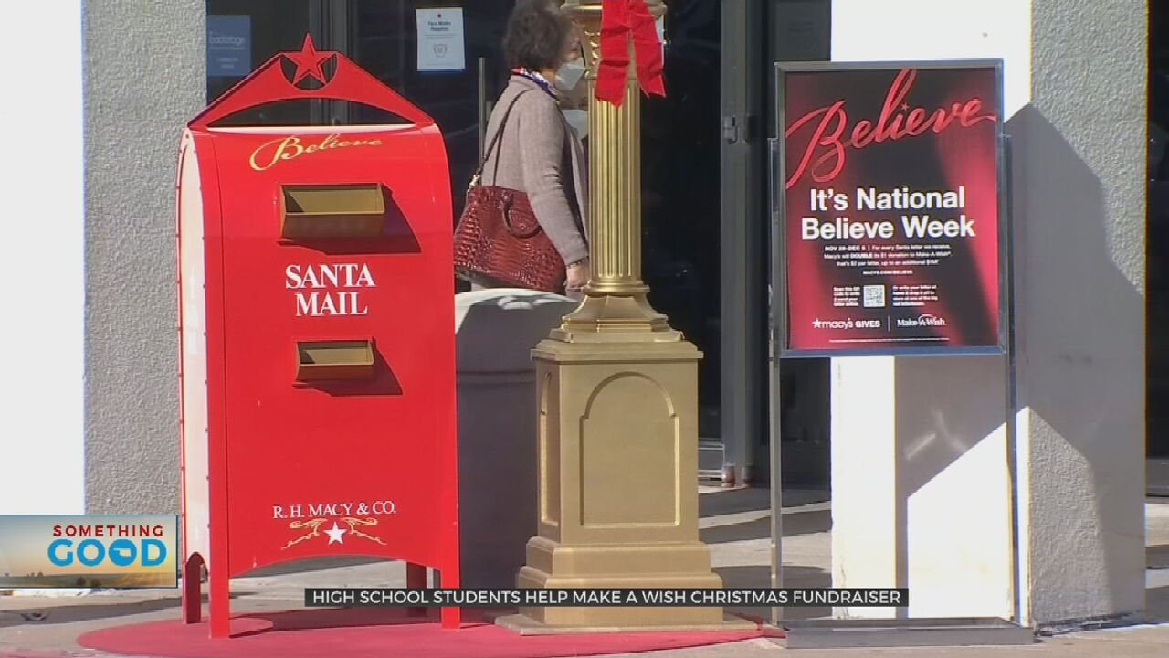Letters To Santa Help Raise Funds For Make-A-Wish