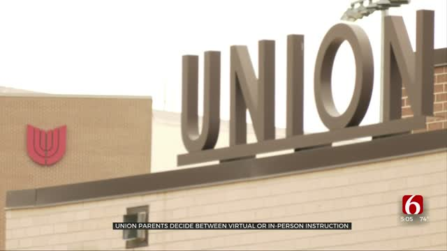 Union Parents Decide Between Virtual, In-Person Instruction