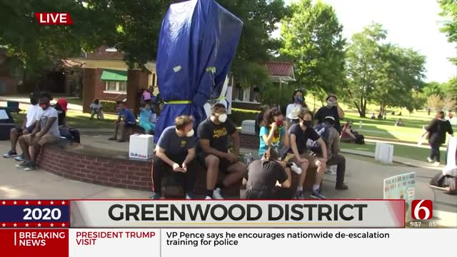 Groups Gather Together In Greenwood District
