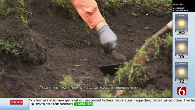 2nd Week Of Excavation Begins At Tulsa's Oaklawn Cemetery