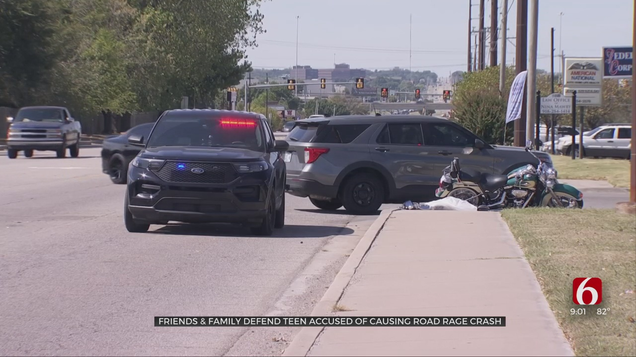 Family Friend Defends 16-Year-Old Accused Of Causing Road Rage Crash