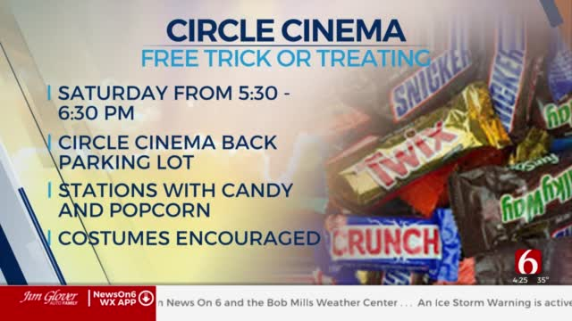 Circle Cinema Holding Trick Or Treating Drive-Thru Event