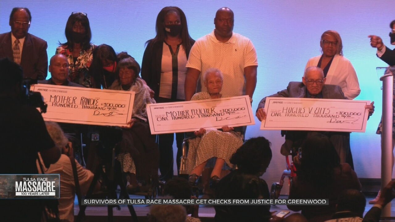 1921 Tulsa Race Massacre Survivors Receive $100,000 Checks From Justice For Greenwood Foundation