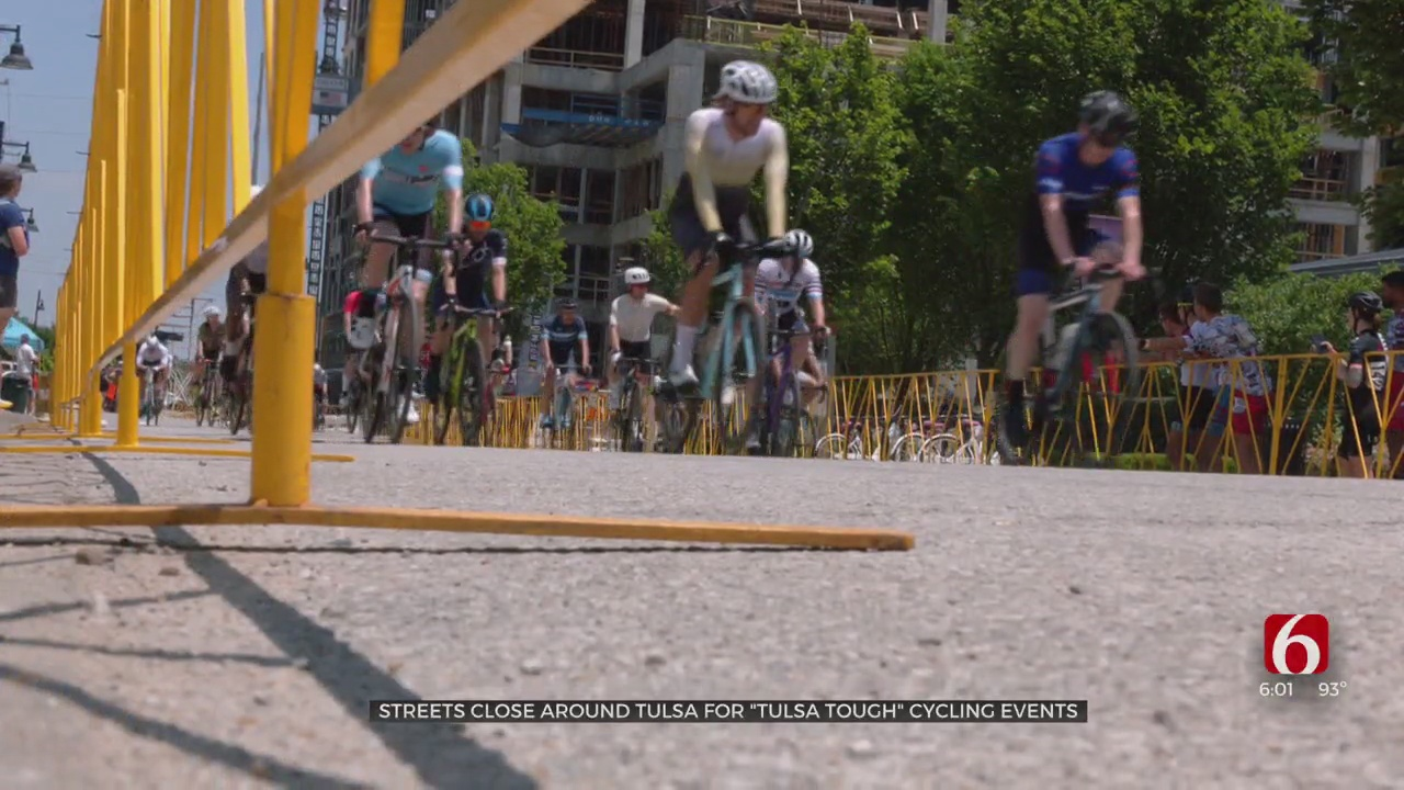 Road Closures To Continue For This Weekend's Tulsa Tough