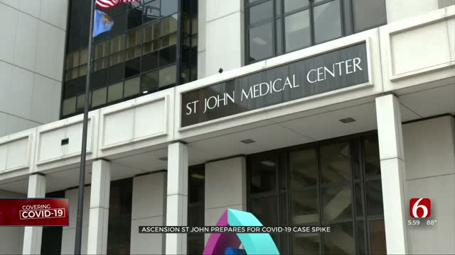 Ascension St. John Seeing Increase Of COVID-19 Cases