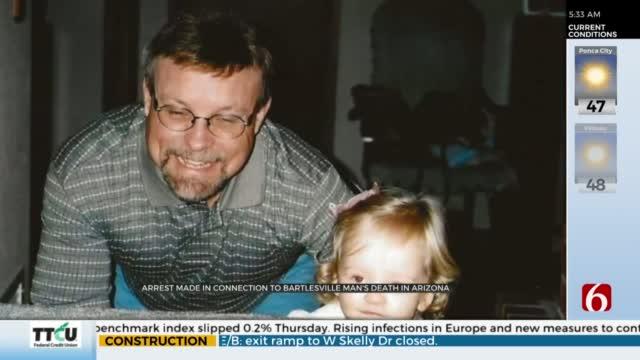 Man Arrested For Murder Of Missing Bartlesville Man, Police Say