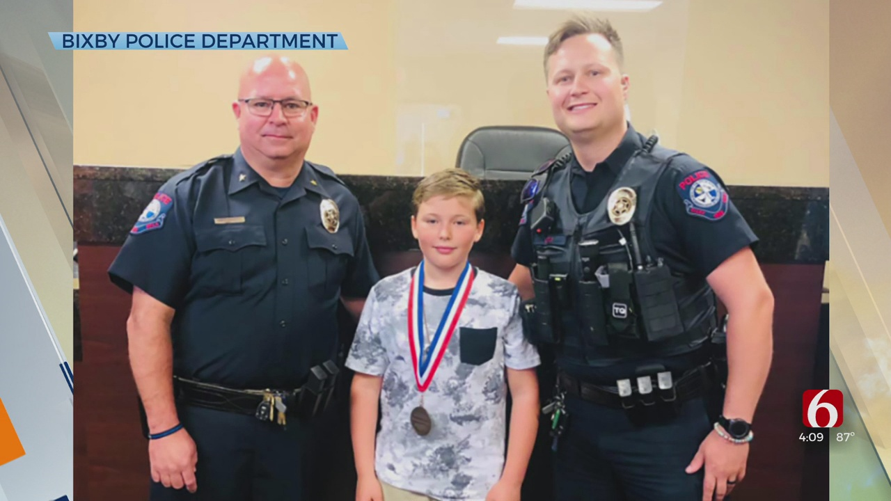 Bixby Kid Honored After Saving Himself, His Sister From Attempted Carjacking