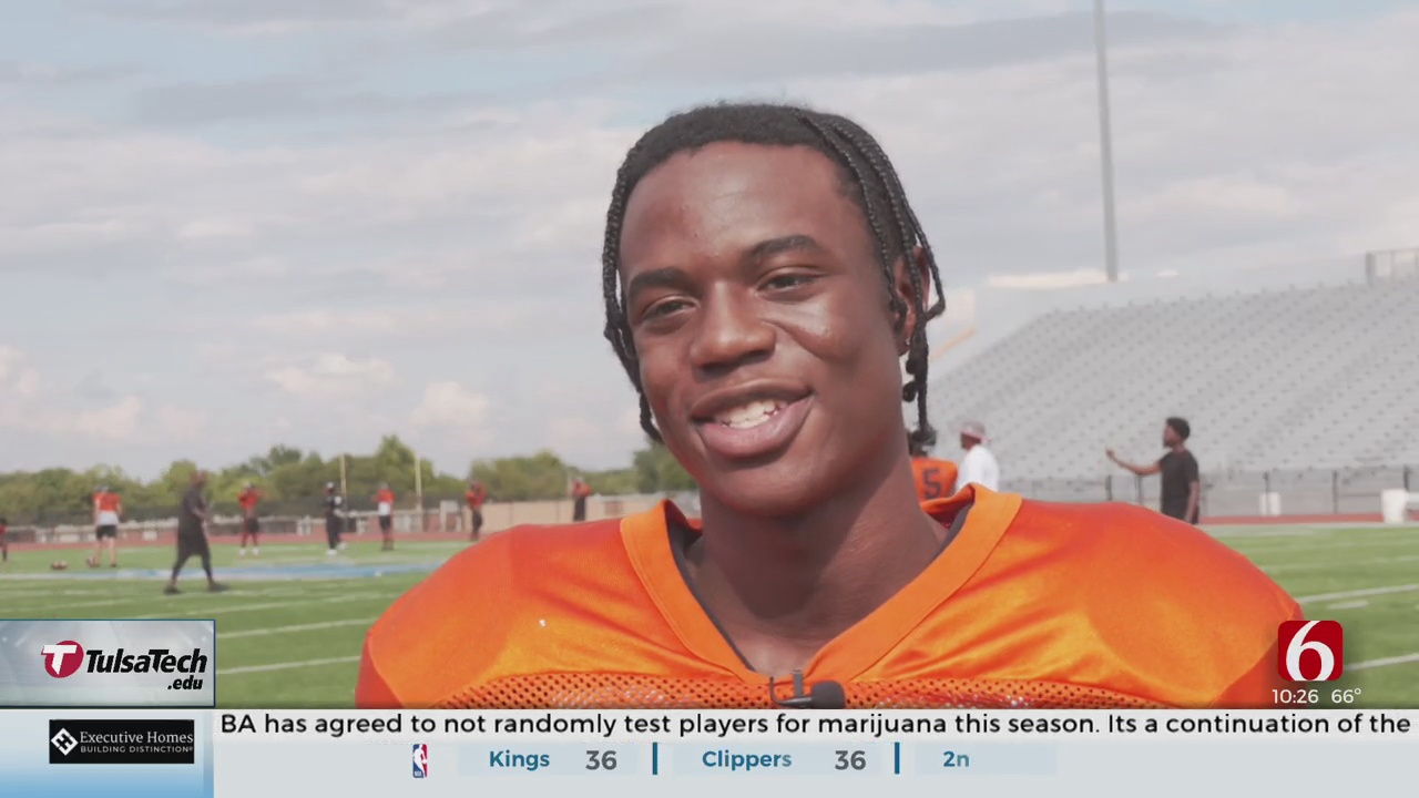 From The Links To The Football Field, Booker T Senior Plays With Patience, Precision