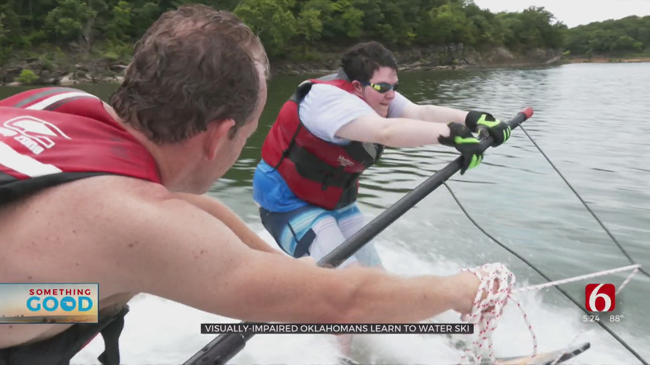 Visually-Impaired Kids Learn To Water Ski Thanks To Oklahoma Nonprofit