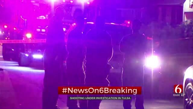 Tulsa Police Investigate Shooting Near 46th Street North, MLK Boulevard