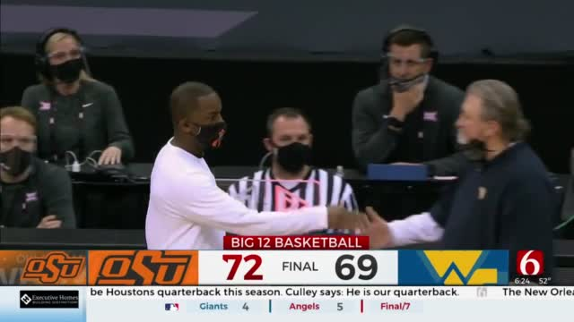 No. 12 OSU Beats No. 10 West Virginia In Big 12 Quarterfinals