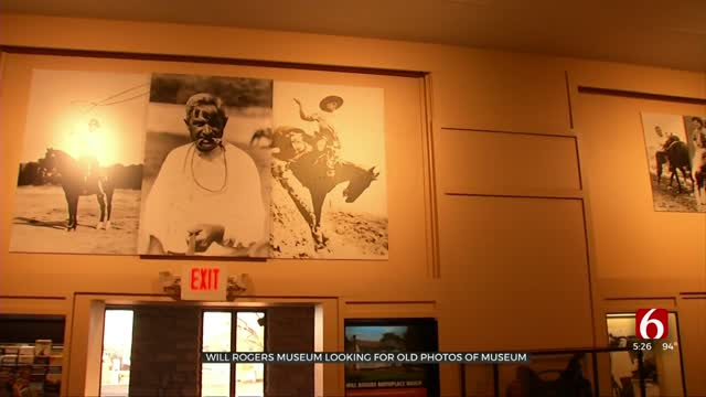 Will Rogers Museum Looking For Old Photos For Archive