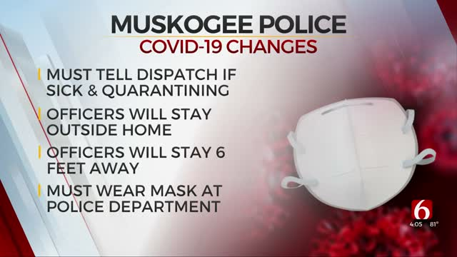 Muskogee Police Implement Procedure Changes Due To COVID-19