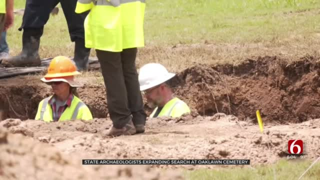 State Archaeologists Expanding Mass Grave Search At Oaklawn Cemetery