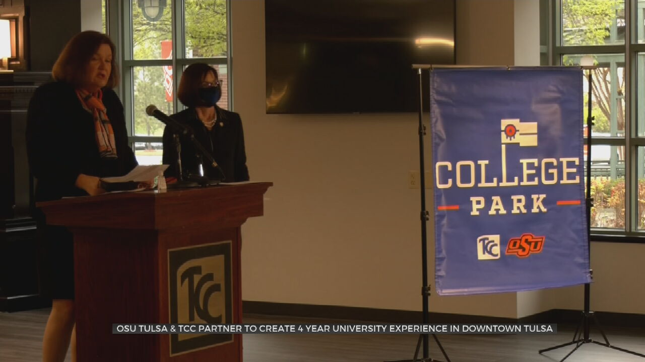 OSU-Tulsa, Tulsa Community College Announce New Partnership