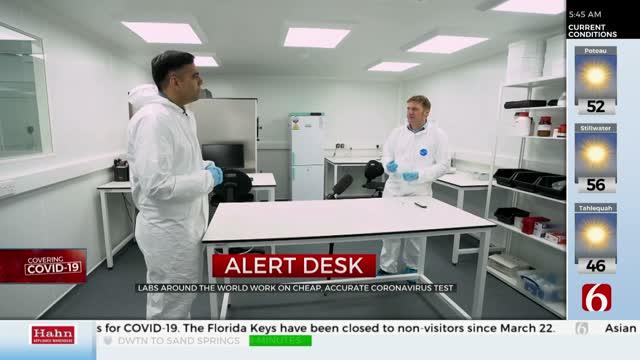 FDA Grants Emergency Authorization For At-Home Coronavirus Testing Kit