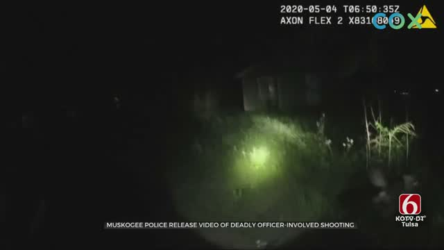 Muskogee Police Release Video Of Murder Suspect Shooting
