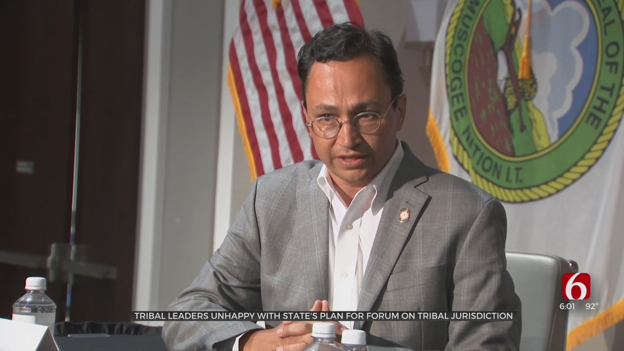 Tribal Leaders Concerned With State's Plan For Forum On Tribal Jurisdiction