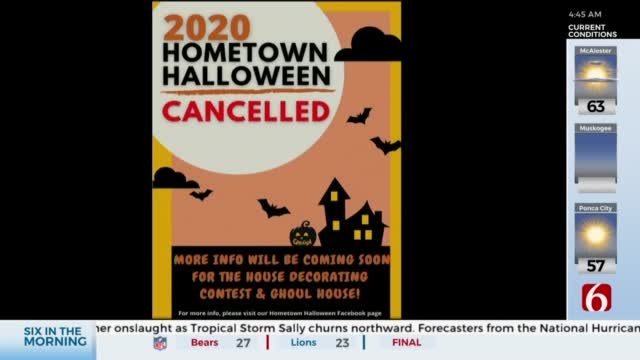 Catoosa's Hometown Holloween Event Cancelled For 2020