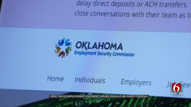 OESC Expects Unemployment Payment Issues To Be Resolved This Week