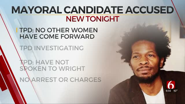 Tulsa Artist Seeks Charges Against Mayoral Candidate