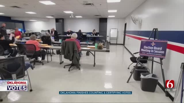 Oklahoma Officials Finish Counting, Certifying Votes