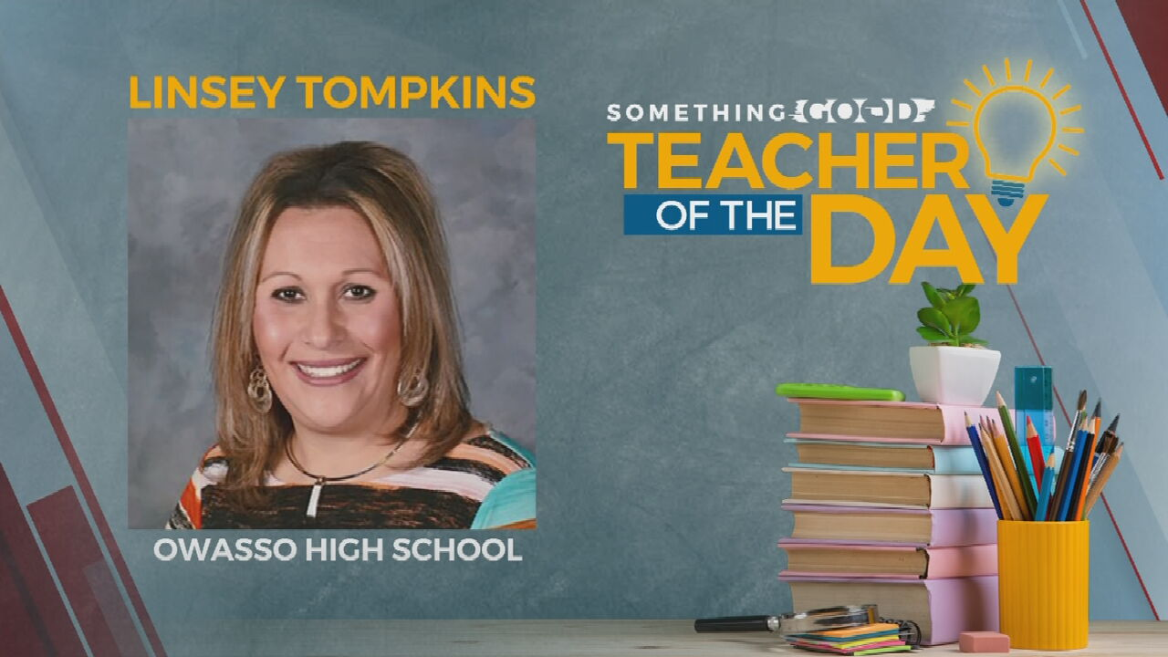 Teacher Of The Day: Linsey Tompkins