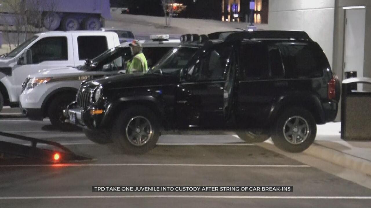 1 Juvenile In Custody, 2 On The Run Following Overnight String Of Car Burglaries, Police Say