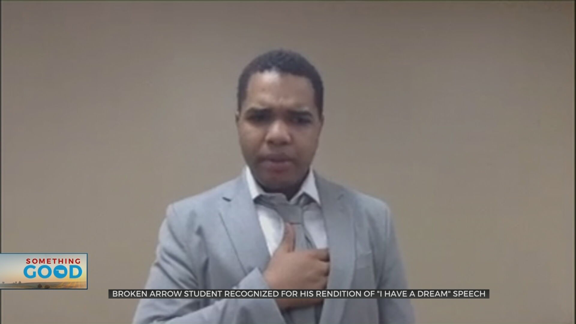 Broken Arrow 9th Grader Recognized For Rendition Of 'I Have A Dream' Speech