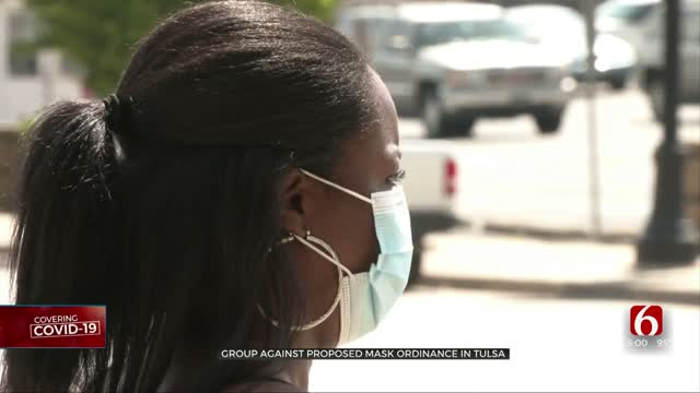 Group Against Proposed Mask Ordinance In Tulsa