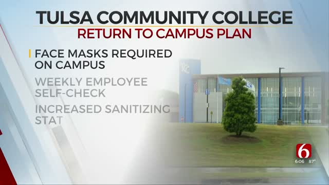 TCC Changes Plan For Fall Semester