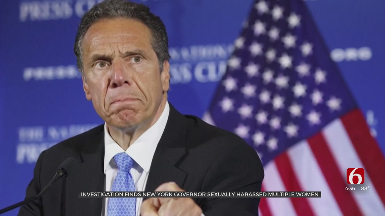 New York Gov. Cuomo Sexually Harassed Multiple Women, Probe Finds