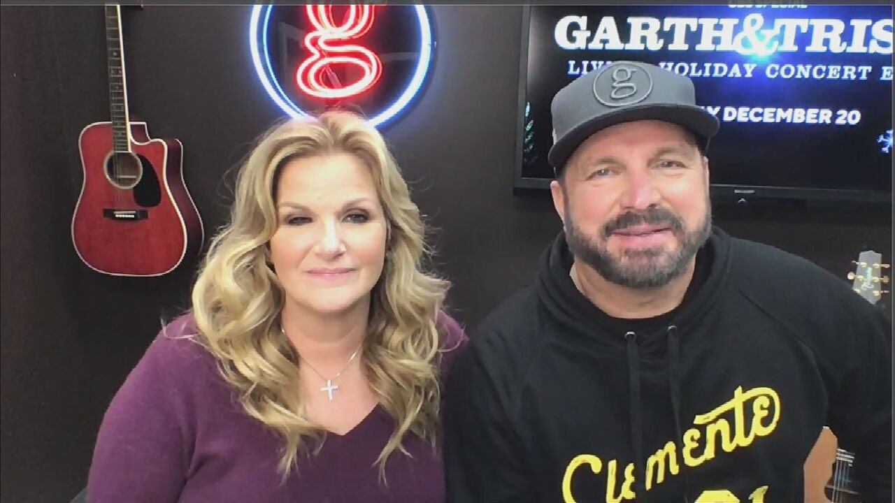 Garth Brooks, Trisha Yearwood Talk About Holiday Concert Event